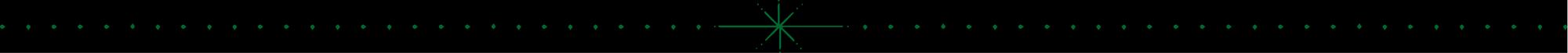 A starburst separator pattern