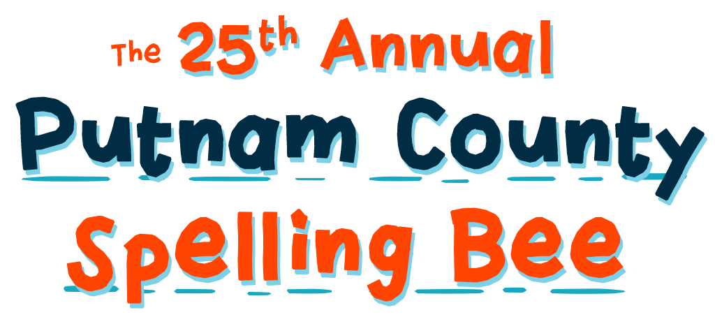 Text saying The 25th Annual Putnam County Spelling Bee