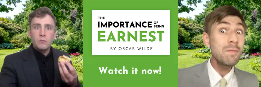 Watch Leawood Stage Company's performance of The Importance of Being Earnest for free online today